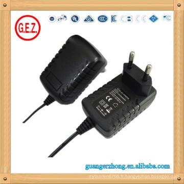 Haute qualité rohs kc certificat 12v adaptateur de puissance de commutation