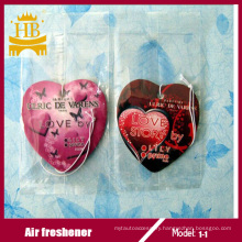 Paper Air Freshener with Customized Design and Logo