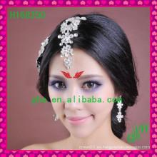 Nuevas tiaras nupciales vendedoras calientes de la tiara del Rhinestone de la joyería nupcial