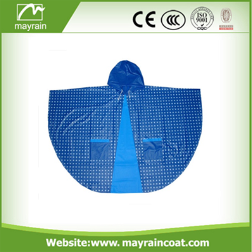 Rain Poncho with Logo