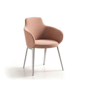 ROC Dining Chair hotel stof arm stoel