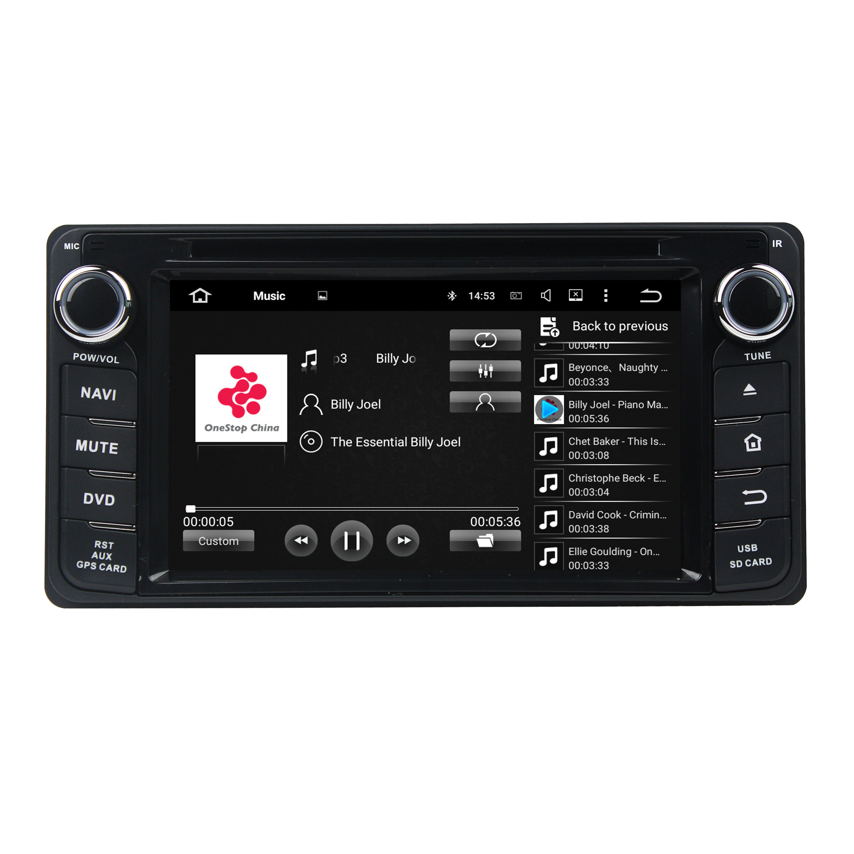 Android car Universal dvd player