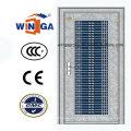 Mittlerer Osten Markt Edelstahl Sicherheit Metall Tür (W-GH-21)
