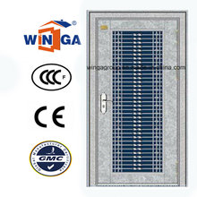 304 Exterior de acero inoxidable exterior puerta de acero a prueba de polvo de seguridad (W-GH-13)