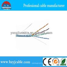 1000 м UTP Cat5e LAN кабель Заводская цена кабеля Шанхайская фабрика Иу Лучшее качество CCA Cu