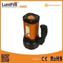 3900 Portable Lamp Searchlight USB Mobile Power Rechargeable LED Flashlight Outdoor USB LED Light
