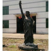 2016 nueva estatua de la escultura del arte de la escultura del cobre de la libertad