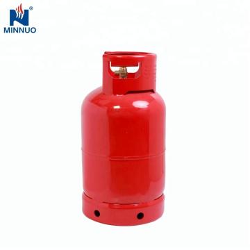 Haus verwendete 12,5 kg Stahl LPG Gas Propan Zylinder Tank für Dominica Markt