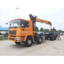 Shacman Telescopic Boom Truck Mounted Crane