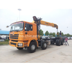 Shacman Telescopic Boom Truck Mounted Crane