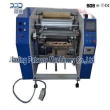 La hoja de aluminio semi automática se pega la película que rebobina la máquina P-350