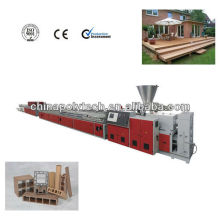 WPC profile extrusion line(plastic machine)