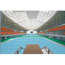 Telhado Treliça de Aço Pré-Projetado para Piscina