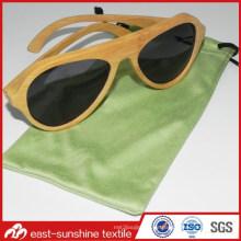 OEM Microfaser Stoff Drawstring Tasche für Sonnenbrillen
