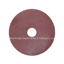 Faser-Discs mit Winkelschleifer Schleifen