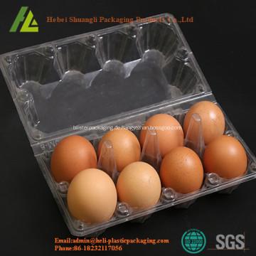 Eierverpackungsschalen aus Kunststoff