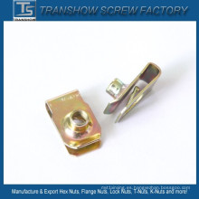 C1065 Spring Steel M6-1.0 U Clip Spring Nut