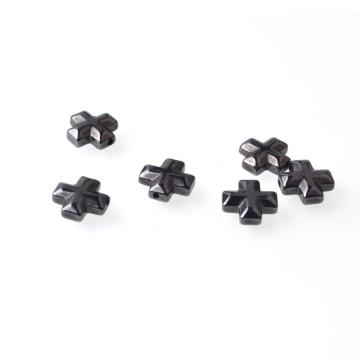 Perlas de Hematites sin Magnetic Cross 10x10mm