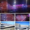 Wasserdichtes DC12V RGB-Gebäude-LED-Punktlicht