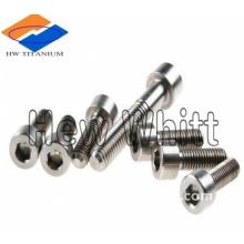 Ti6AI4V titanium hex socket head screw