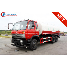 2019 tipo econômico Dongfeng 18000litres caminhão tanque de água