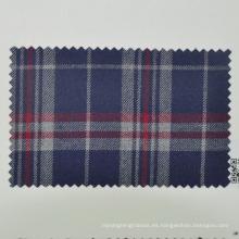 Traje de lana lisa de viaje para el chequeo tartan de reportero fabricado en China