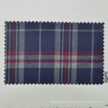 traveling smooth wool suit fabric for reporter tartan check made in China