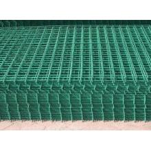 PVC revestido soldado fio malha folha preço de fábrica