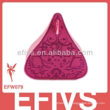 Delicados rosa rojo besos boda favor caja hecha en China