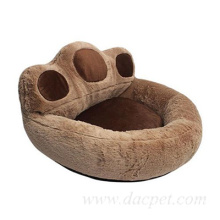 pet soft sofa bed paw shape