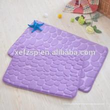 tapis de bain imperméable à l'eau mat mat tapis de bain en mousse