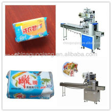 Good quality pillow type soap packing machine