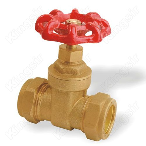 Brass Gate Valves With Pipe Union
