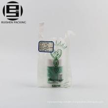 Wholesale small plastic vest carrier t-shirt bags