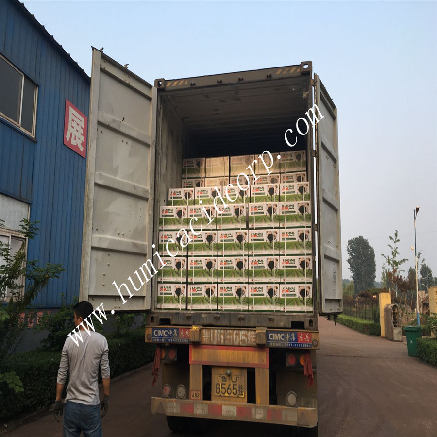 Mineral fulvic acid fertilizer