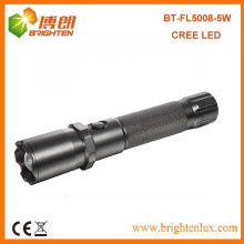 Factory Hot Sale Hunting 2D Cell Heavy Duty Metal 300lumen Zoom Focus 5watt XPG CREE high power led torch light