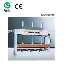 высокое качество и горячей продажи деревообрабатывающего дверь пресс машина холодная горячая распродажа