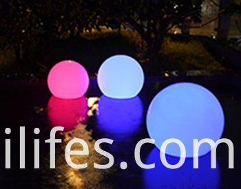floating led ball light
