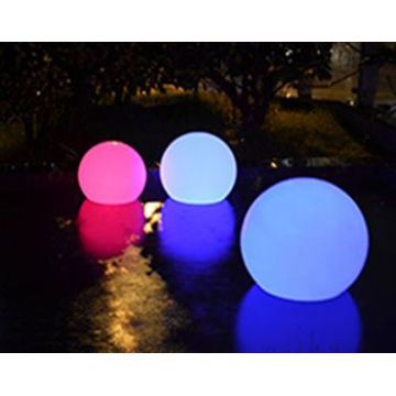 Waterproof Balls LED Light Up