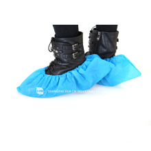 Housse de chaussure non tissée jetable / couverture de chaussures médicales
