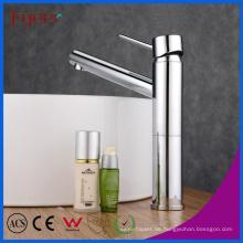 Fyeer Chrome Lange Auslauf Einhand Messing Badezimmer Waschbecken Wasserhahn Hot & Cold Wasser Mischbatterie Wasserhahn