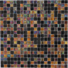 Iridescent Glass Mosaic for Floor Tile (HC-16)