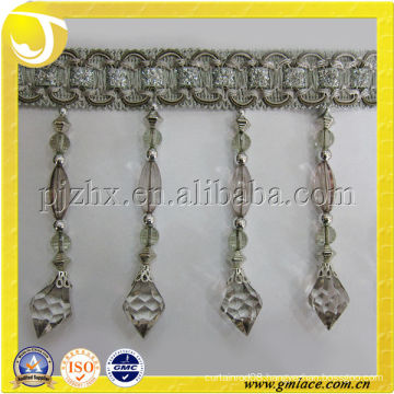 High Quality Curtain Accessory Beads Sangestsu Fringe and Trim Home Textile