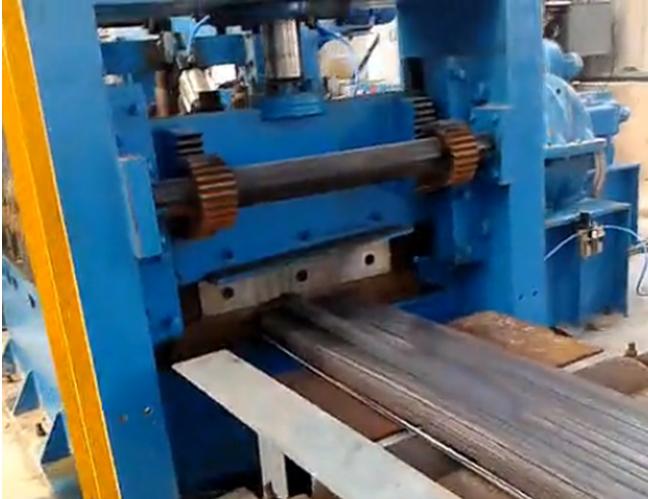 Servo PLC Control Cut to Length production line
