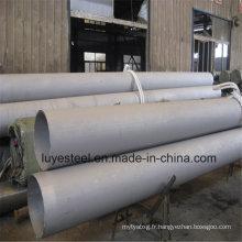 304 tube en acier inoxydable pour matériaux de construction