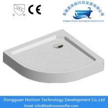 OEM for Sector shower tray Acrylic quadrant shower tray supply to Netherlands Exporter