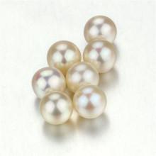 Snh 8.5-9мм Белый круглый культивированный рыхлый жемчуг