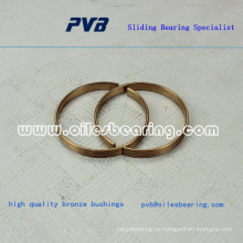 Anillo de bronce, anillo de cobre, buje envuelto en bronce