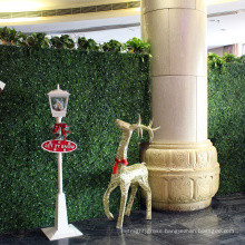Factory wholesale cheap artificial plants hedges wall for shops decoration