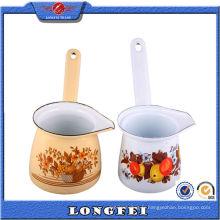 Belle décoration émaillée Colorful Ceramic Coffee Set Gifts